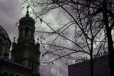 bruisecoloured sky