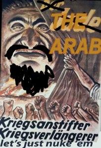detourned nazi propaganda poster