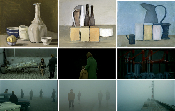red desert giorgio morandi aet and film