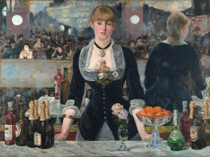 Manet, Edouard, 1832-1883; A Bar at the Folies-Bergere