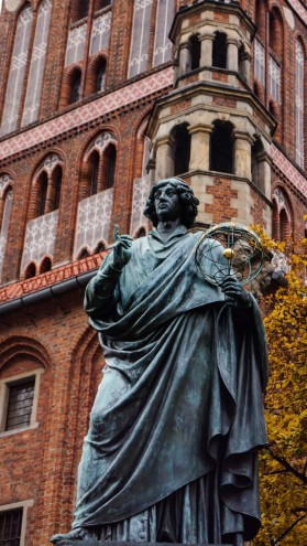 Copernicus, home town boy